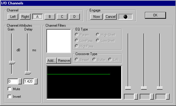 Screen - Channel Dialog